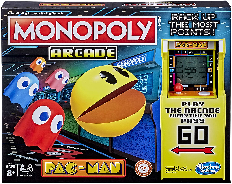 Hasbro Gaming Monopoly Arcade Pacman