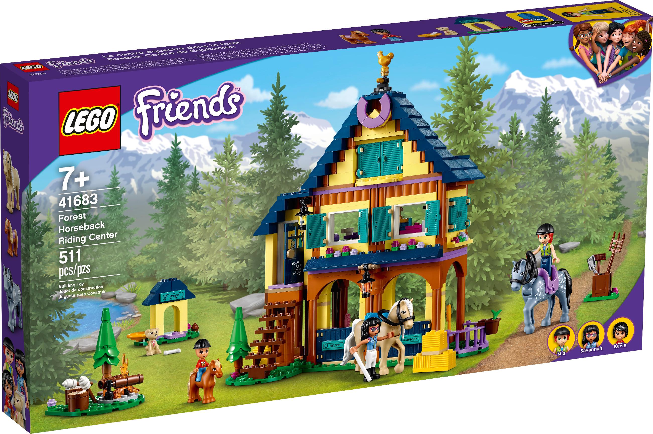 LEGO Lesní jezdecké středisko 41683