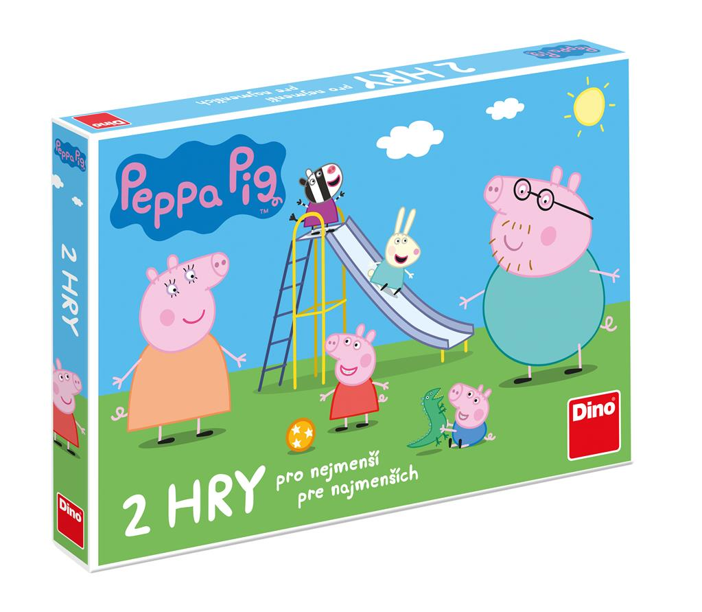 Dino Peppa Pig - Pojď si hrát / Skluzavky