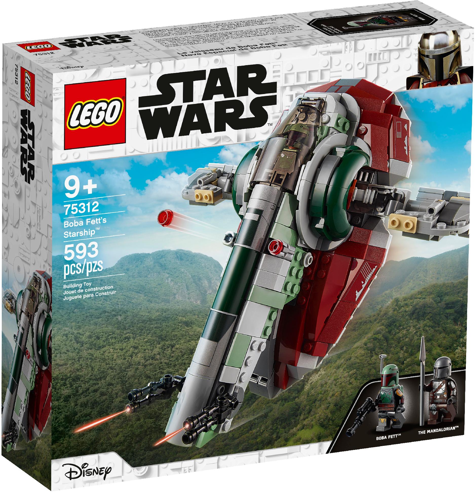 LEGO Boba Fett a jeho kosmická loď 75312