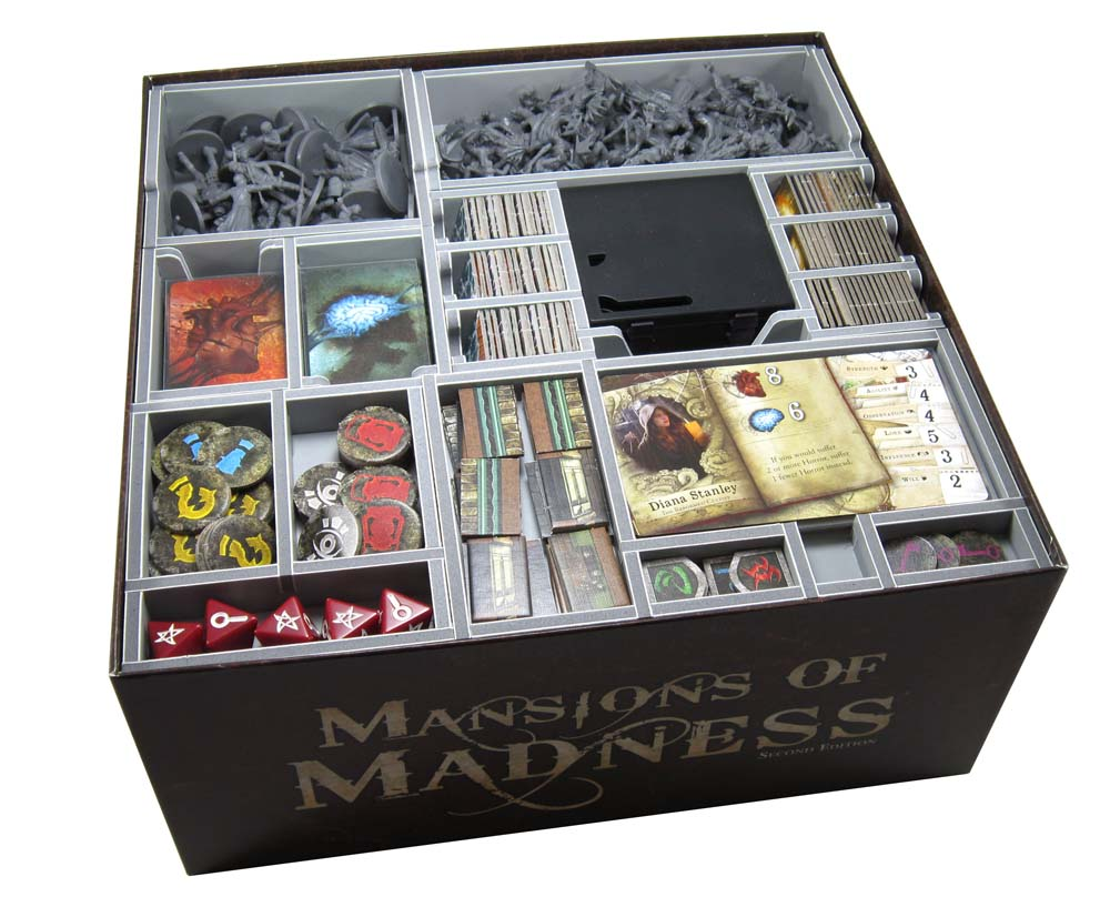 Folded Space Panství hrůzy: Druhá edice Insert MAN - Mansions of Madness: Second Edition Insert