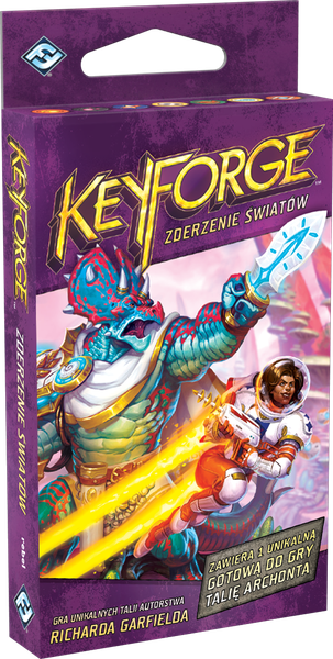 FFG KeyForge: Worlds Collide Deck