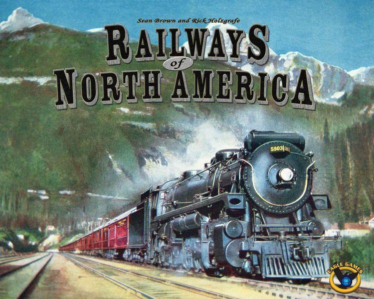 Levně Eagle-Gryphon Games Railways of North America