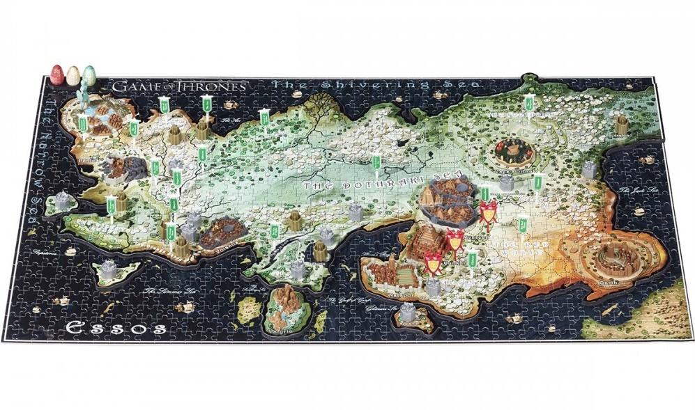 4D Cityscape - Game Of Thrones / Essos 3D Puzzle