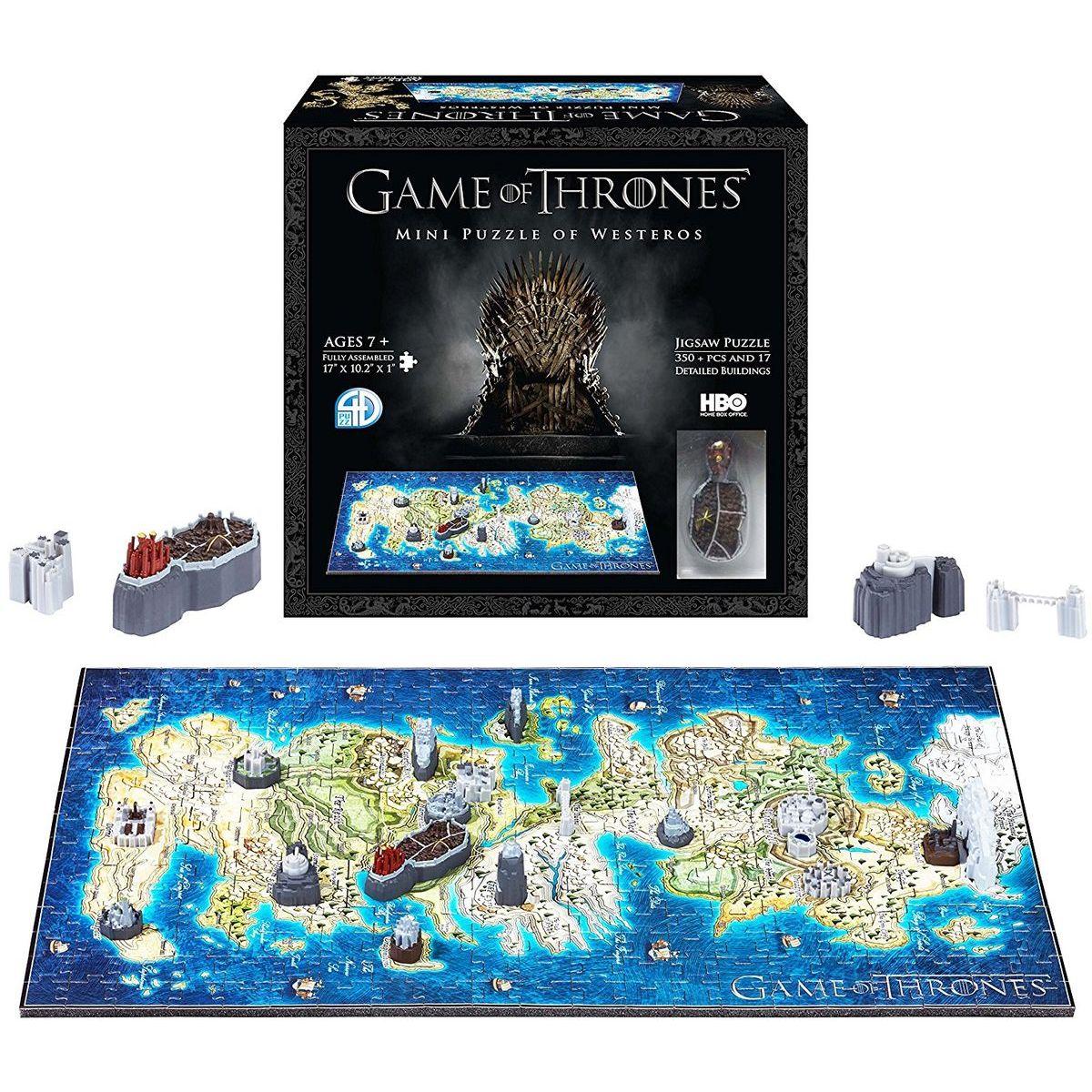 4D Cityscape - Game Of Thrones / Mini Westeros 3D Puzzle