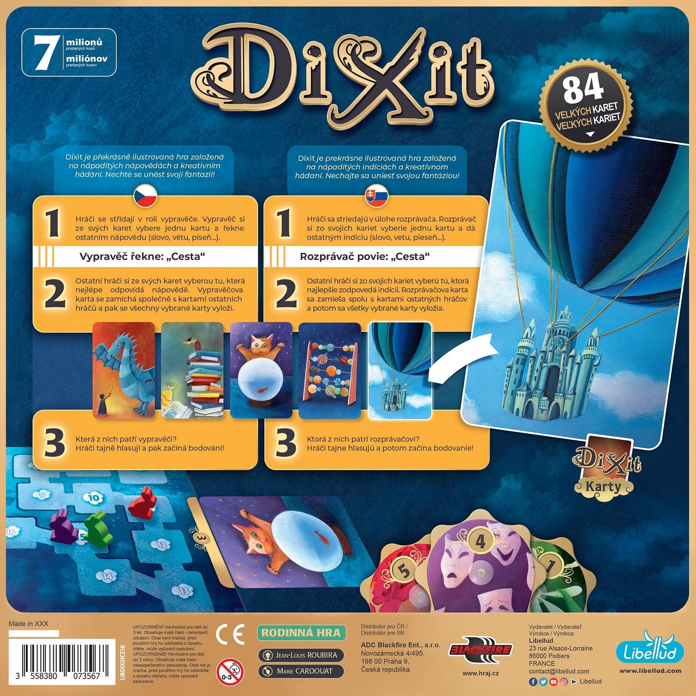 ADC Blackfire Dixit: Základní hra