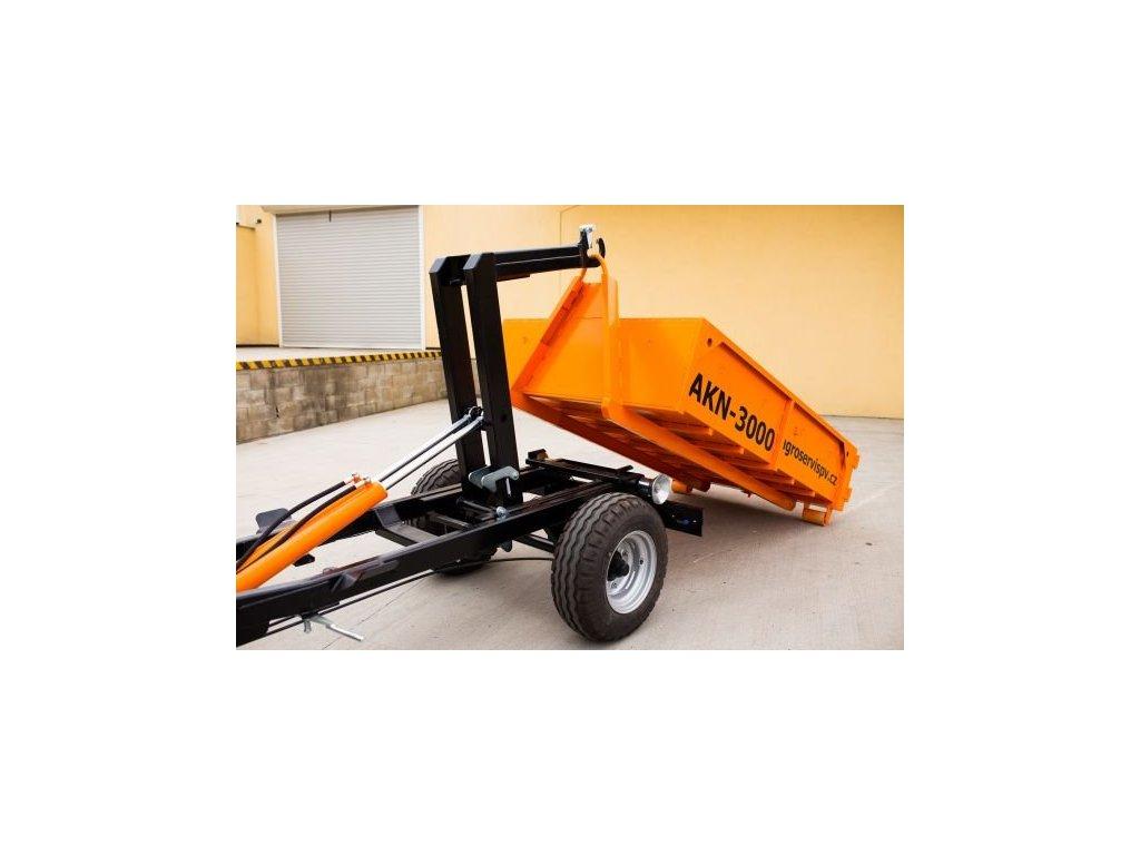 Traktorový nosič kontejnerů AKN-3000
