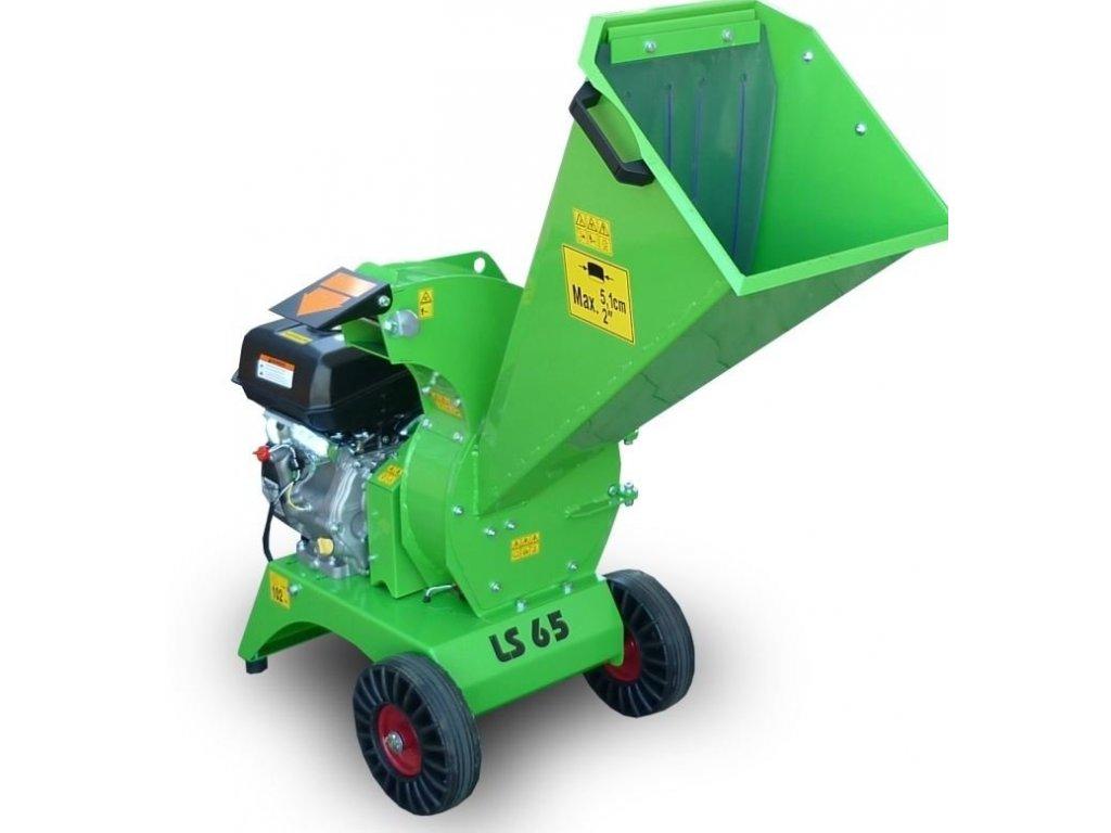 Zahradní štěpkovač Laski LS 65/CH