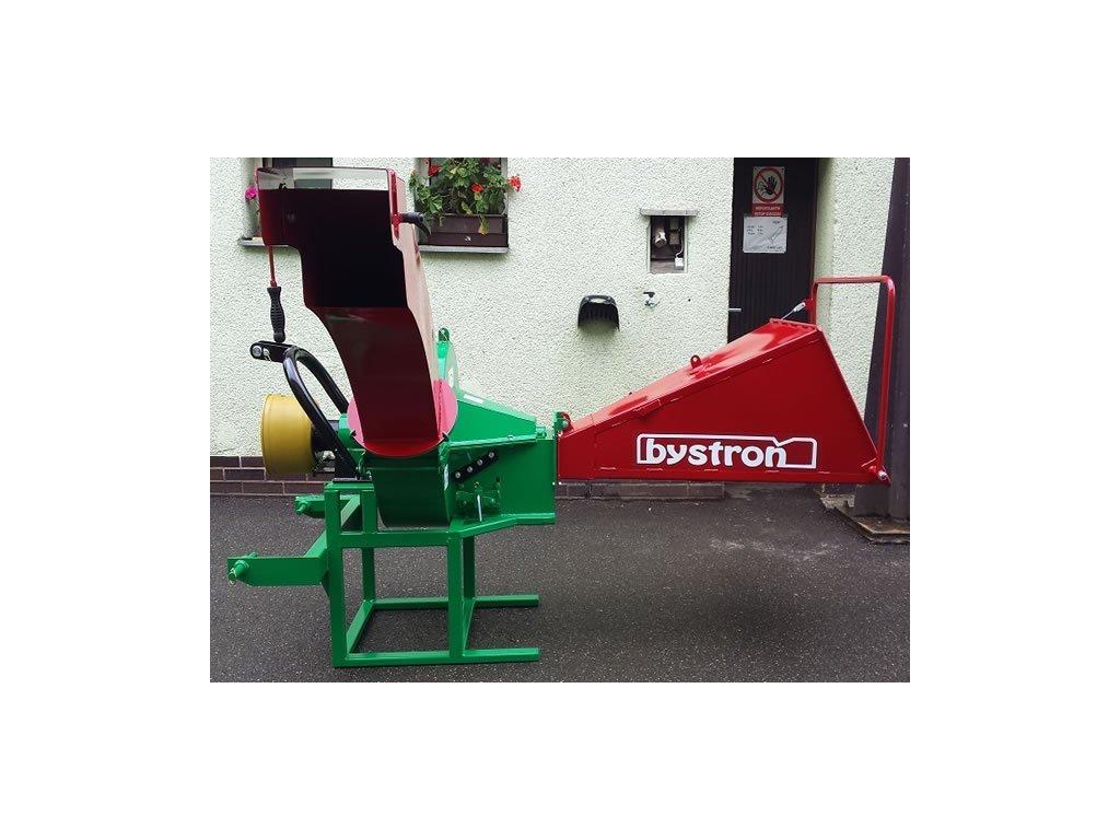 PIRBA Longa - špalíkovač za traktor s foukáním špalíků komínem + doprava zdarma
