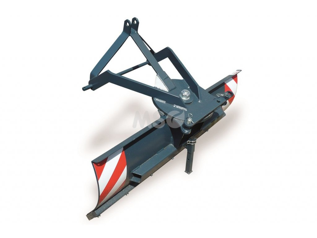 Shrnovací radlice zadní 120 cm, otočná - ZTZU 02