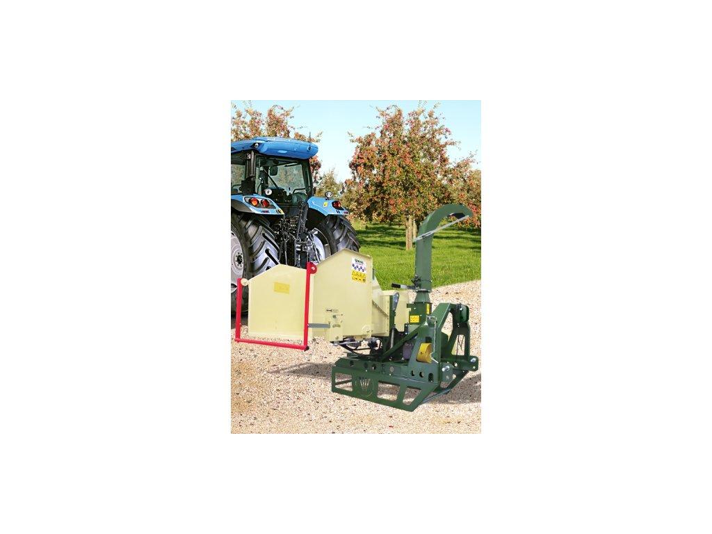 Negri bio R255T - drtič za traktor