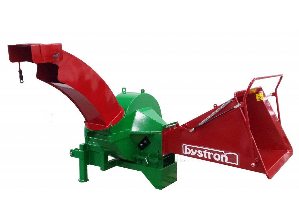 Barakuda Long - špalíkovač za traktor s foukáním špalíků komínem + doprava zdarma