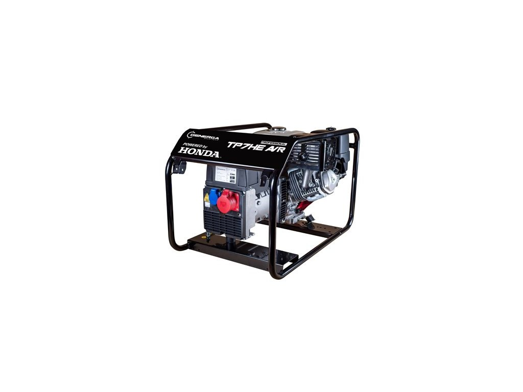 Honda TP 7 HE AVR elektrocentrála třífázová s elektrostartem