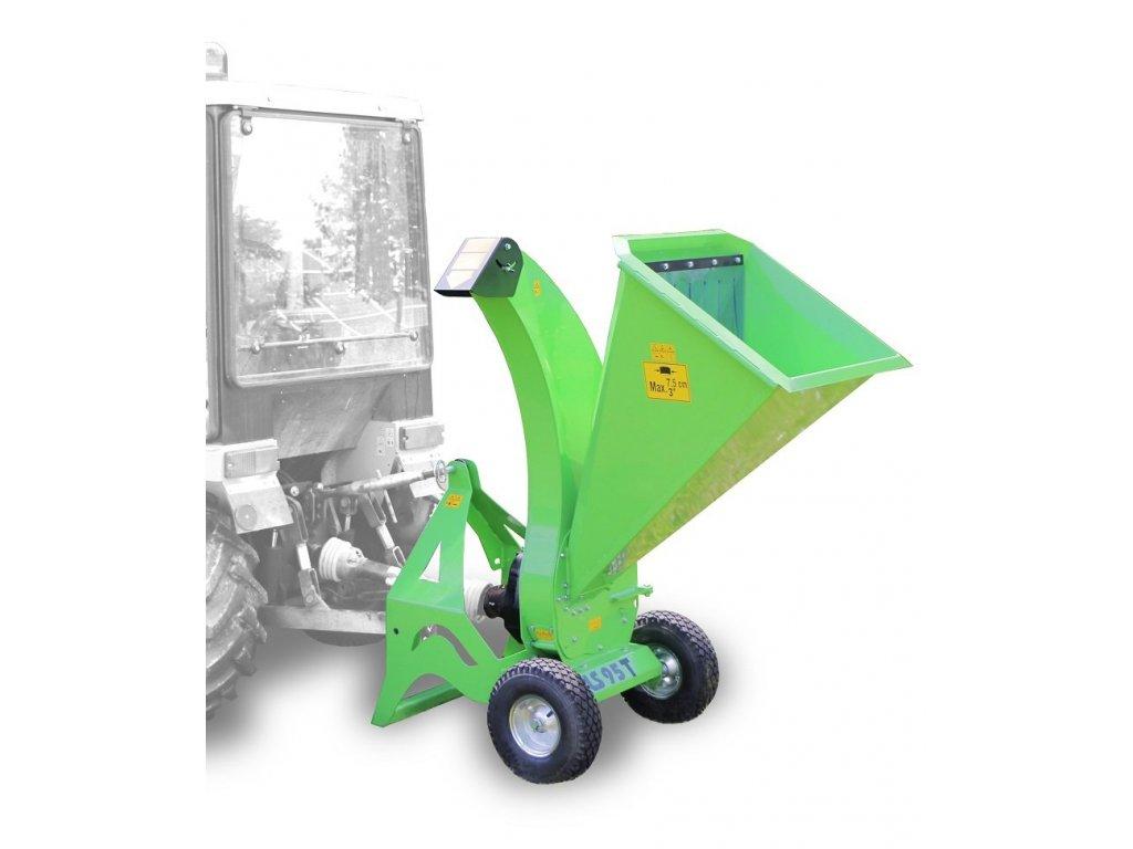Laski LS 95 T - štěpkovač za traktor + doprava zdarma