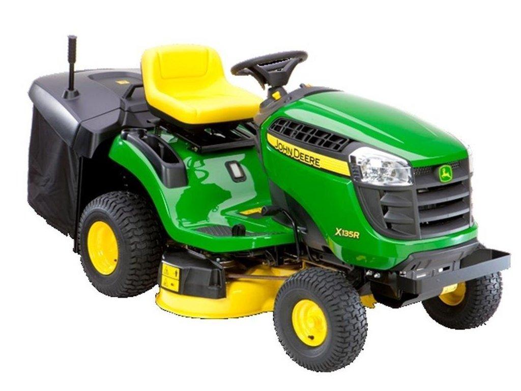 John Deere X135R zahradní traktor