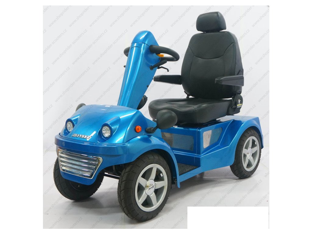 HELICON S1500 - elektrický vozík s dlouhým dojezdem