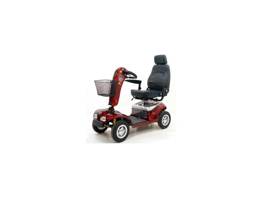 Praktik II - celoodpružený elektrický vozík