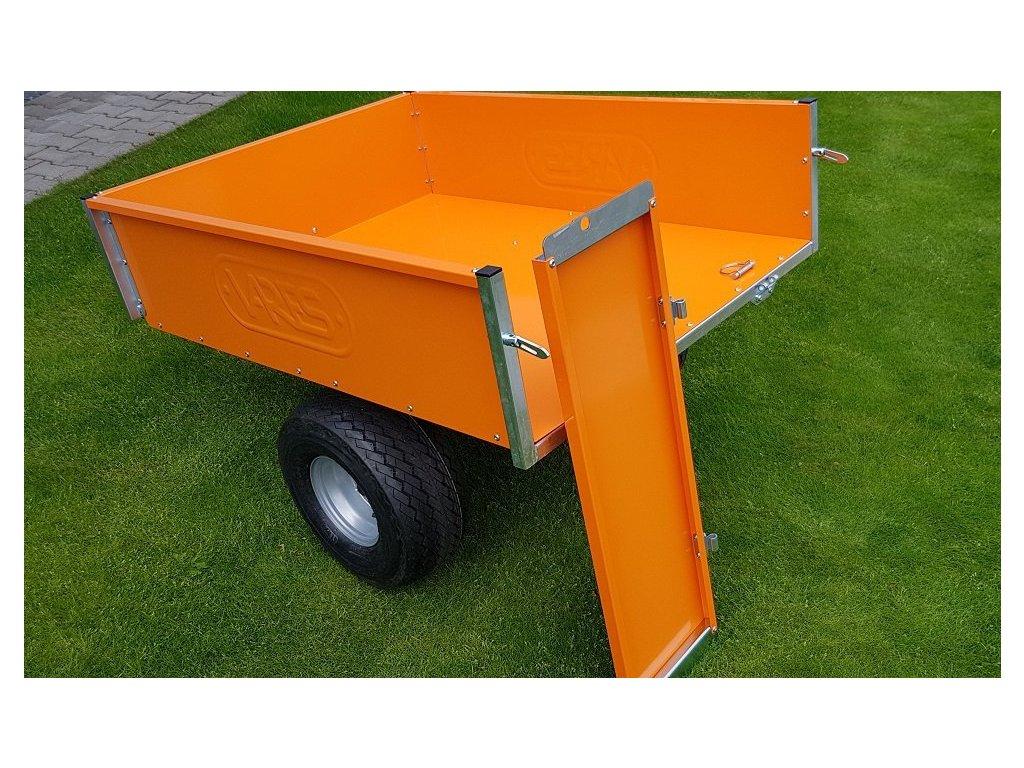 TRVMS - POZINK PLUS  - vozík za traktor