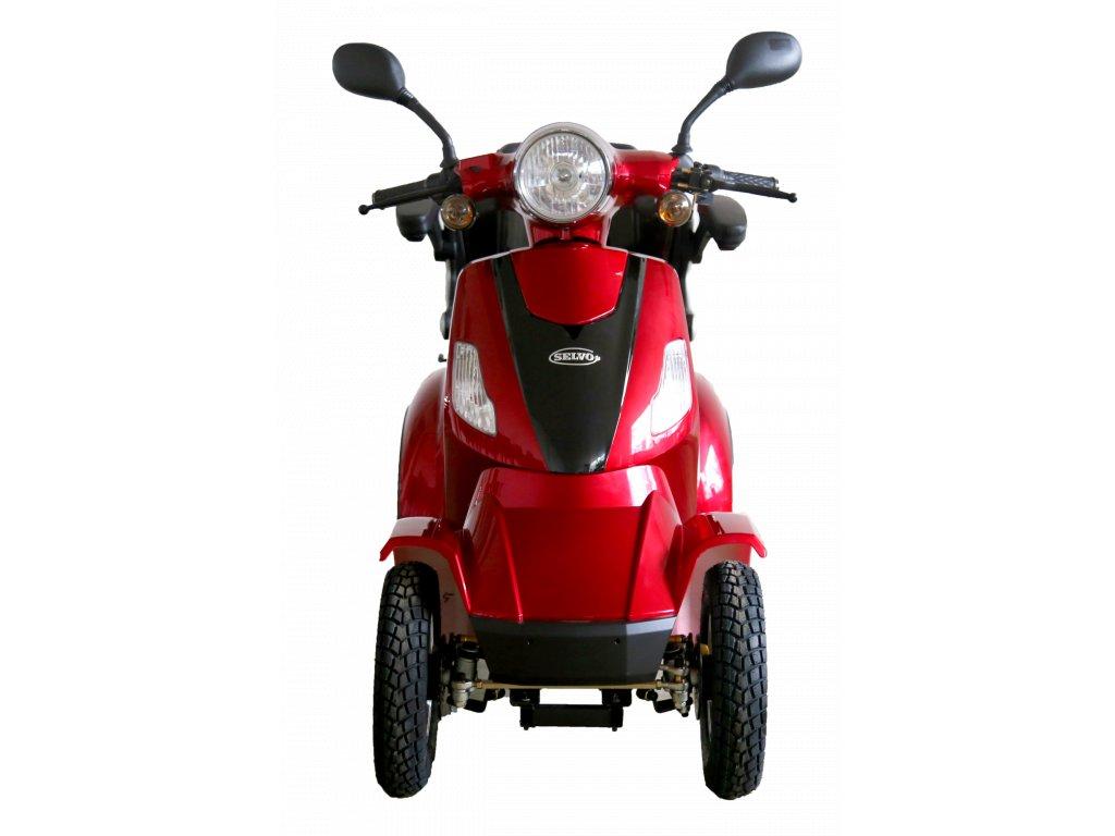 Selvo 41000Li - EB  - elektrický čtyřkolový vozík s vyjímatelnou baterií a elektromagnetickou brzdou