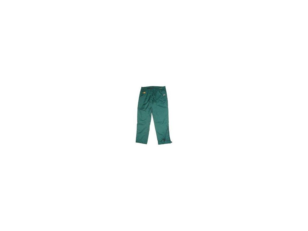 nepromokavé kalhoty TOP-TEX zelené