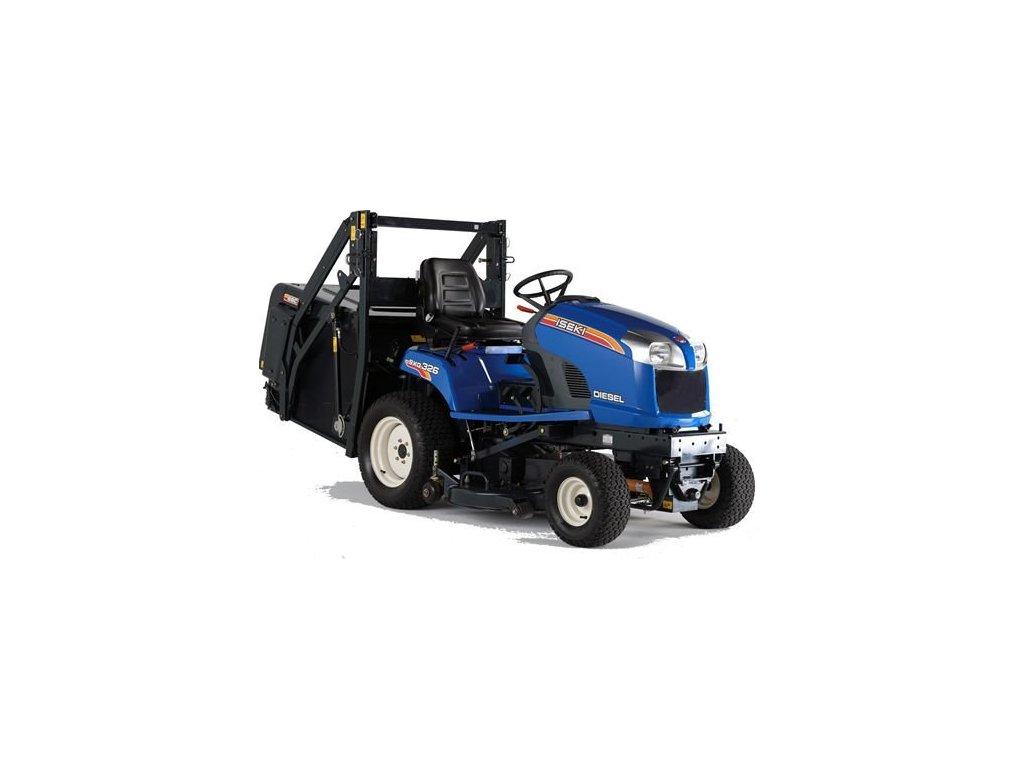 Travní traktor Iseki SXG 326 HL s výklopem do výšky + doprava zdarma