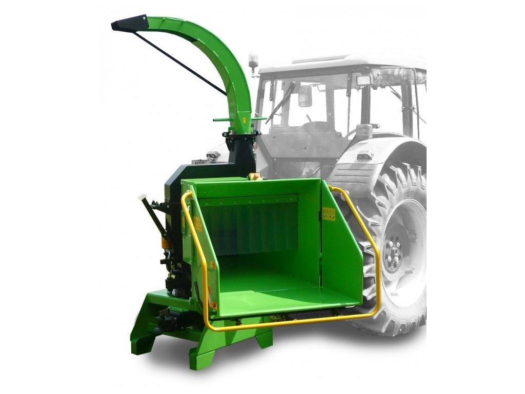 Laski LS 200T - drtič a štěpkovač za traktor + doprava zdarma