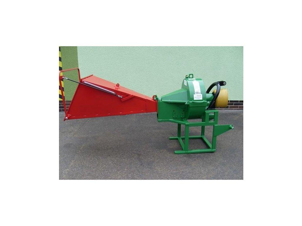 PIRBA Longa - špalíkovač za traktor