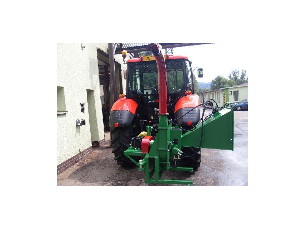 MURÉNA - drtič za traktor s možností připojení vlečky