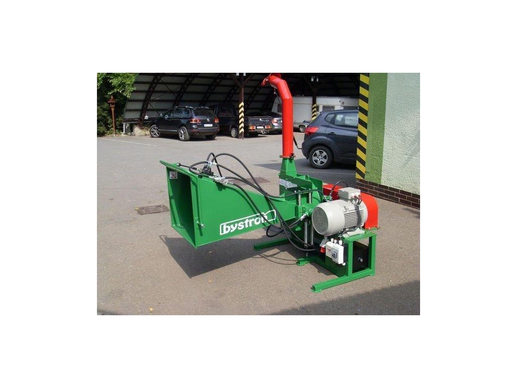 MURÉNA - drtič s elektromotorem 11 kW