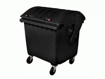 Plastový kontejner 1100 L, černý