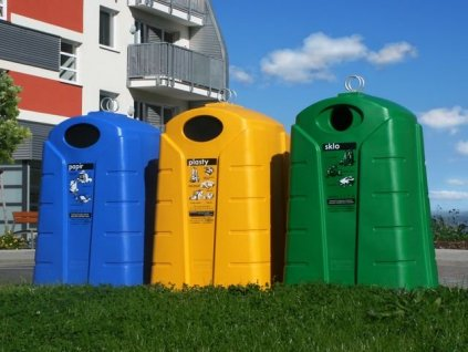 Polyethylenový kontejner, 1500 l  + doprava zdarma
