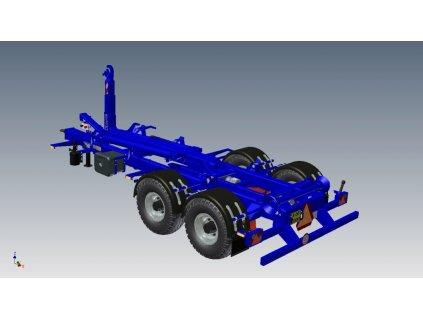 Traktorové nosiče kontejnerů TN CTS 08-41-S
