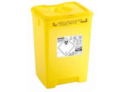 Kontejnery na nebezpečný nemocniční odpad PACAZUR