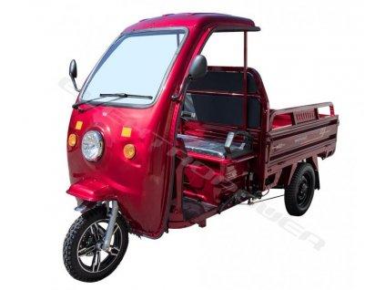 E-CAR - pracovní elektrická tříkolka S KABINOU