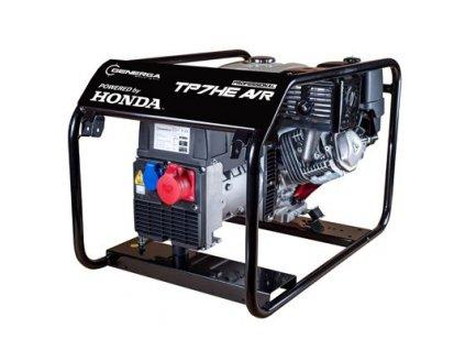 TP 5 H AVR - elektrocentrála jednofázová - třífázová