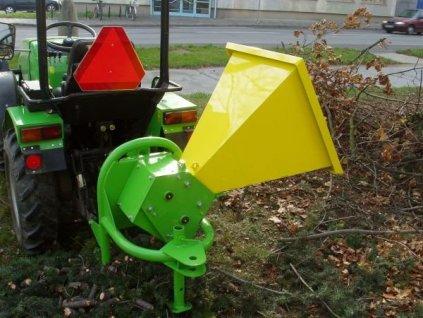 BOBR 75T - špalíkovač za traktor + doprava zdarma