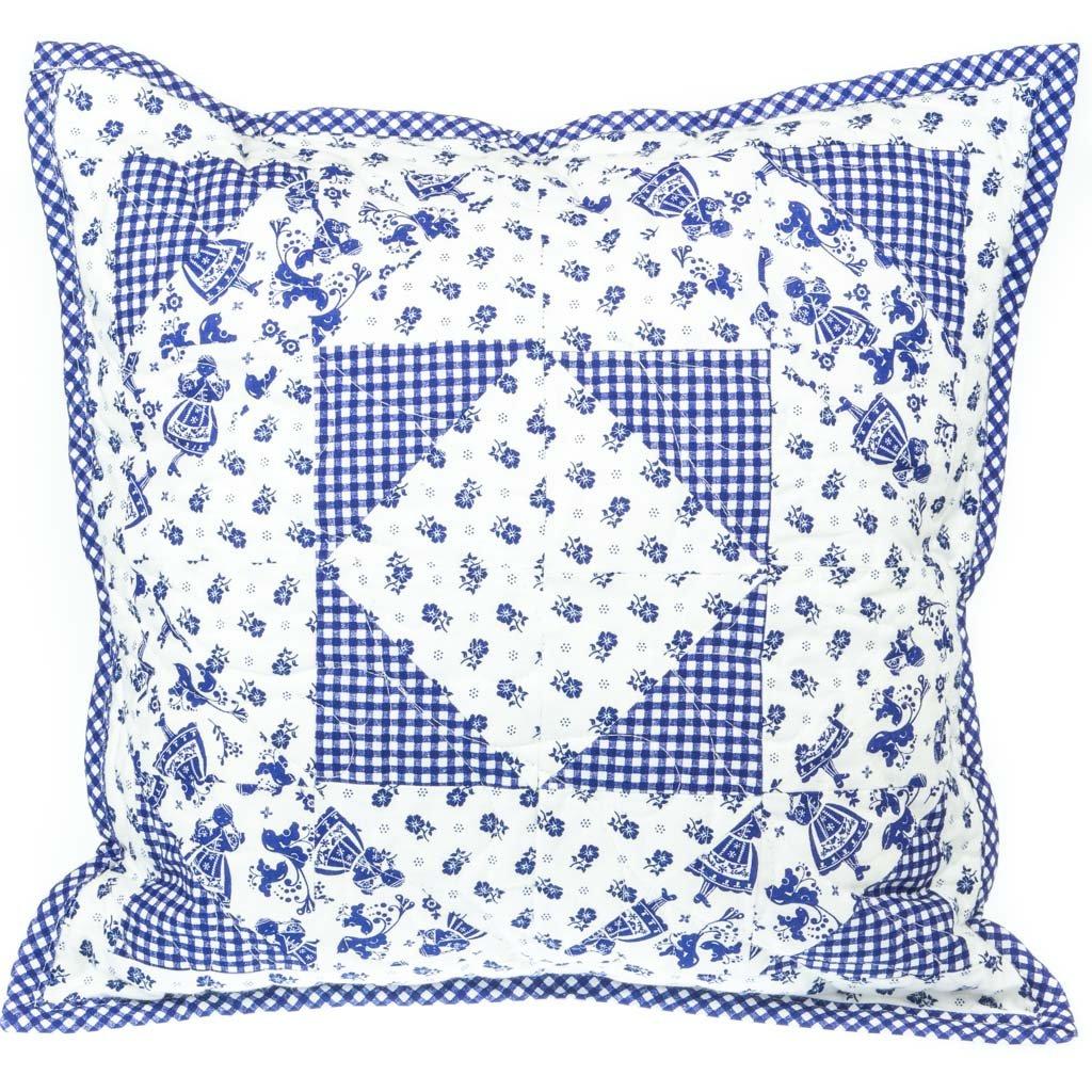 Dekorativní polštář, modrý