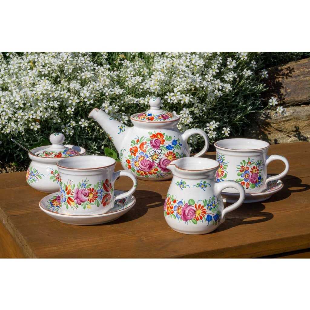 Přátelská čajová sada pro dva