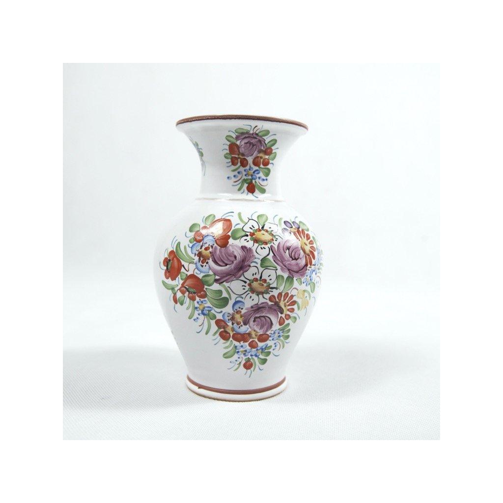 Keramická váza z Chodska, 20 cm