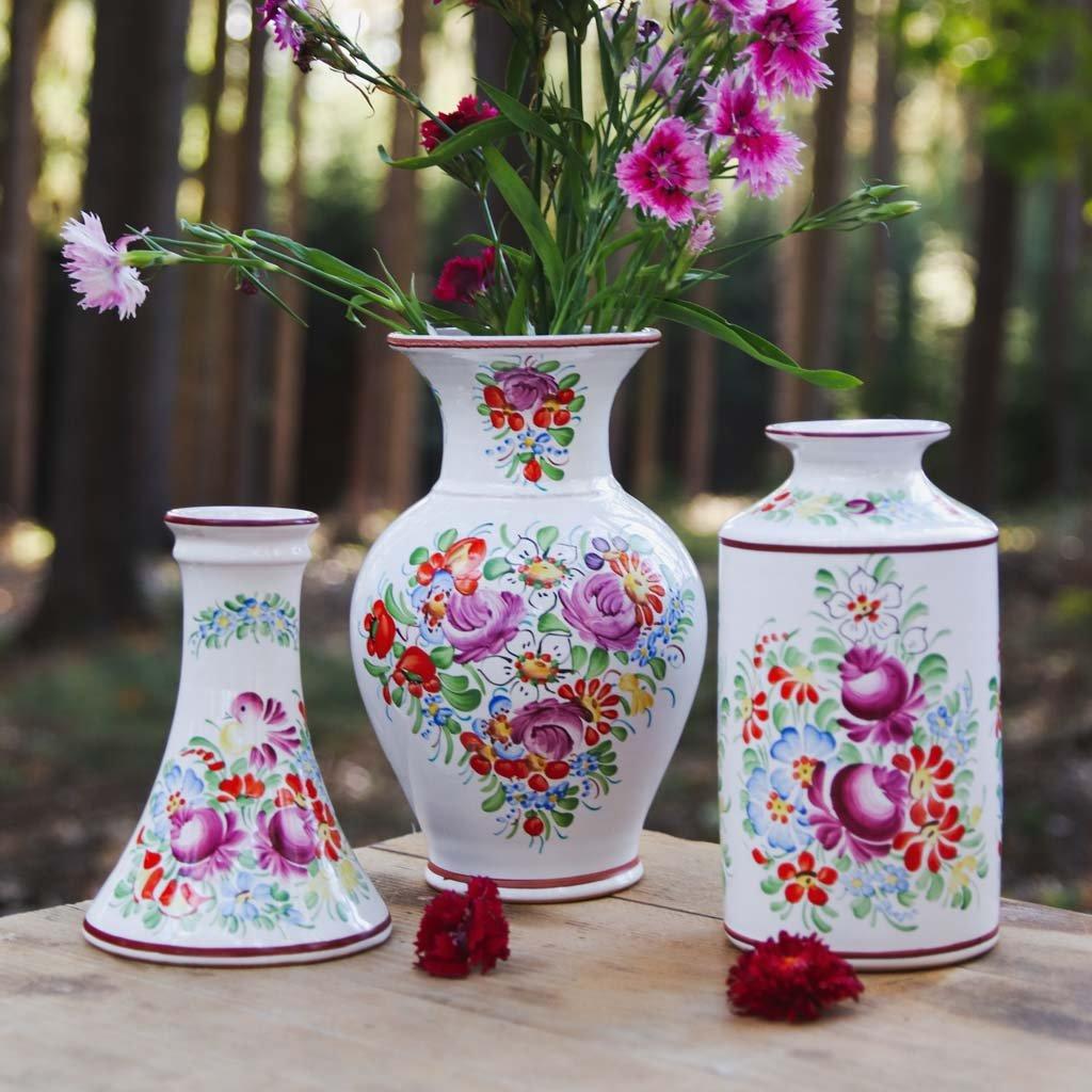 Set mit 3 Chod Keramikvasen