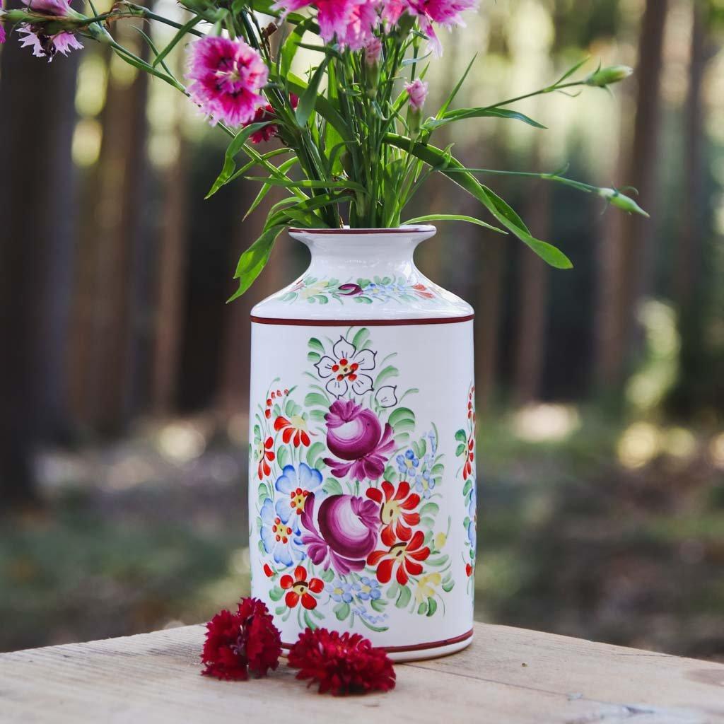 Sada 3 chodských váz, chodská keramika