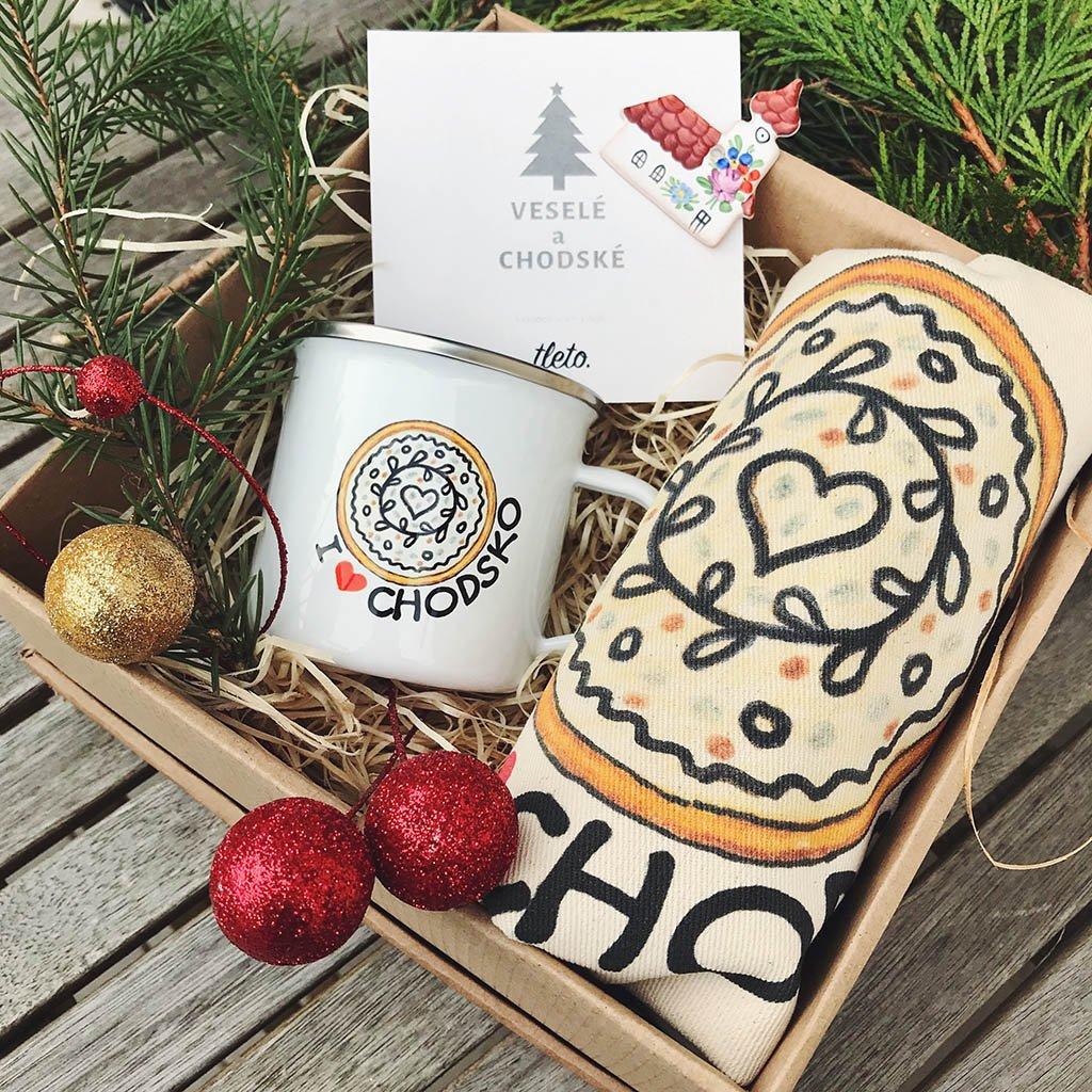 Vánoční balíček Chodský koláč