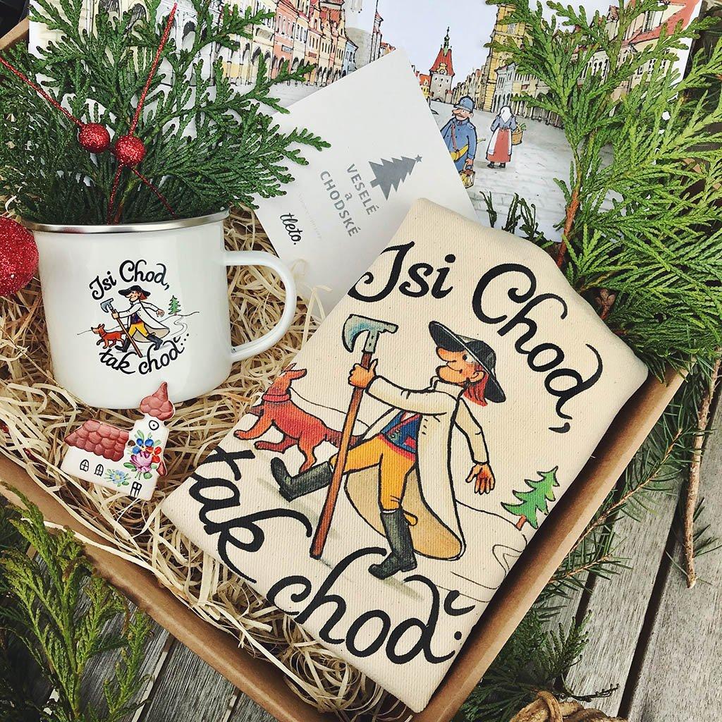 """Vánoční balíček pro malého Choda """"Jsi Chod, tak choď"""""""