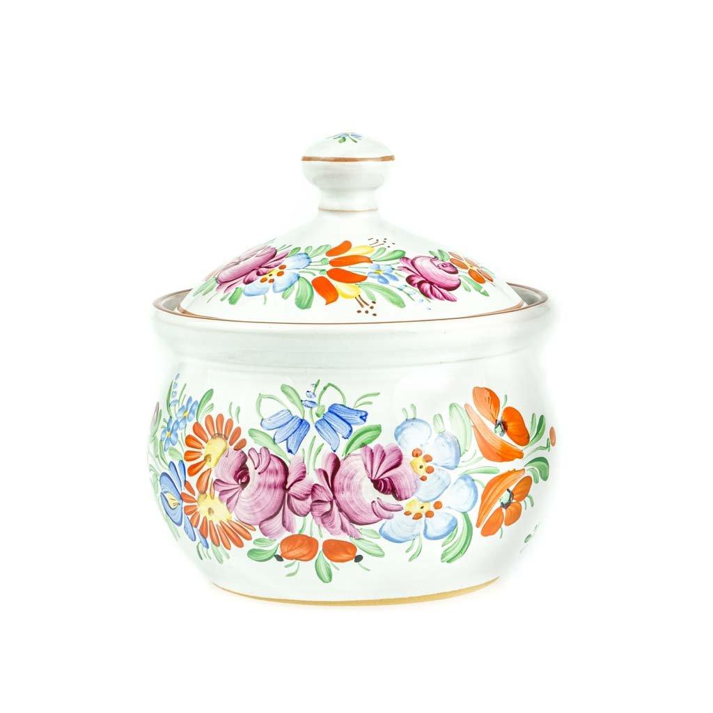 Cukřenka, bílá chodská keramika