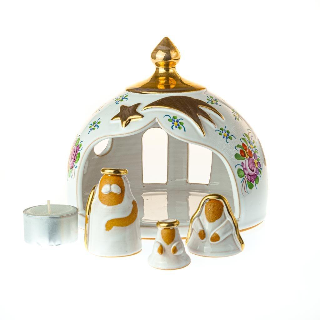 Betlém s věží, chodská keramika