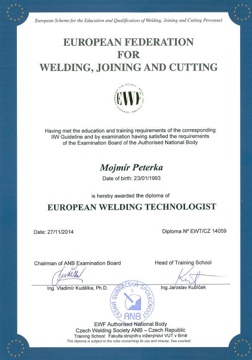 EWT - svařovací technologie