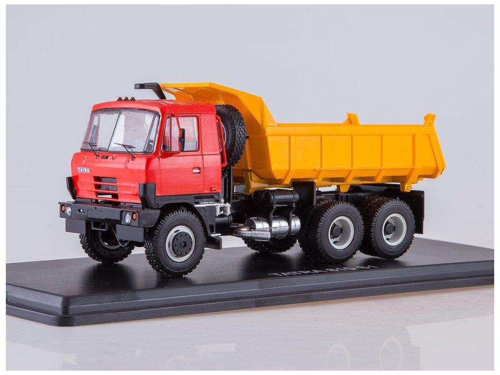 Tatra 815 S1 sklápěč žlutá/červená 1:43 Start Scale Models