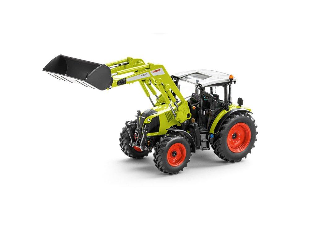 Traktor Claas Arion 450 s čelním nakladačem FL 120 1:32 Wiking