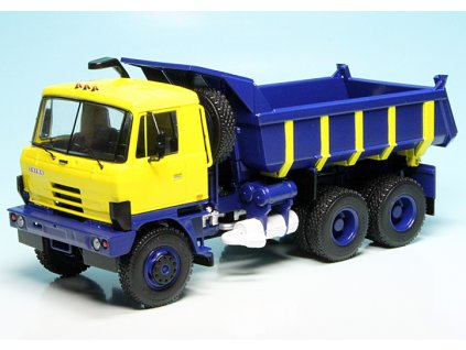 tatra 815 s1 yellowblue dump truck 13511 original
