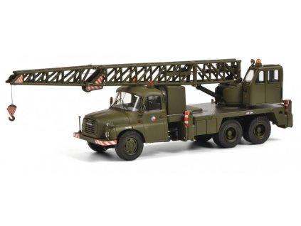 Tatra 148 jeřáb vojenský ČSLA 1:43 Schuco